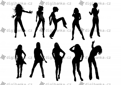 Tančící siluety
